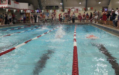 Girls Swimming Hosts Tri-Meet