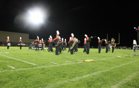 EHS Bands march through season