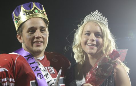 Caiden Rexius and Lucas Halferty win 2015 Queen and King