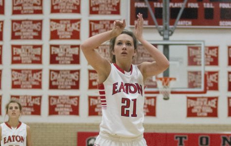 Buzzer beater seals win for the Lady Reds