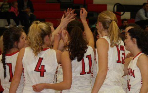 Eaton girls crush University in first post-season game