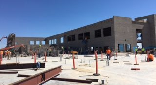 Recreation Center construction right on track