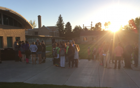 Students gather for See You at the Pole