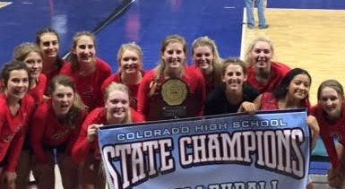 Volleyball clinches four-peat at state tournament