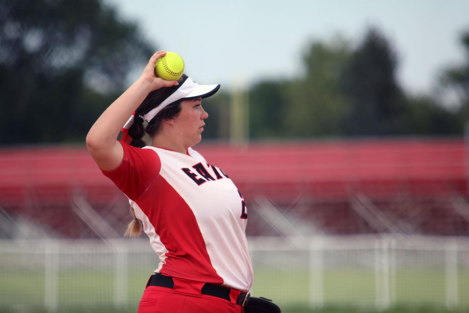 Softball Defeats University In first game of season