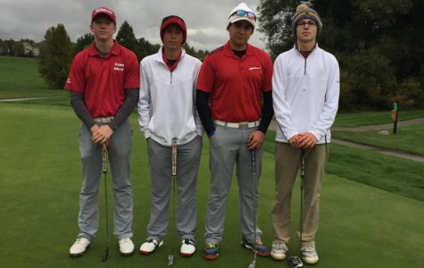 Grossenbacher places in tie for 4th at state golf tournament