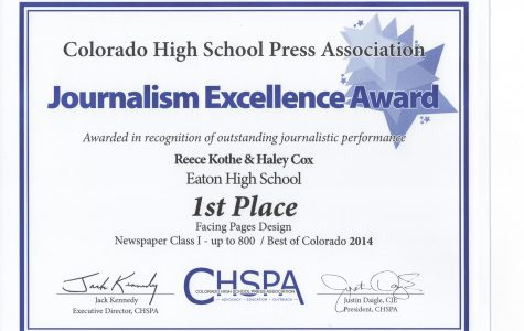Red Ink wins 19 CHSPA Best of Colorado Awards
