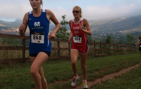 Mckenzie Reiher is running her legs off catching up to her opponent.