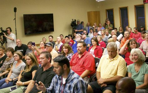 Eaton gathers to voice opinions on Danley's future