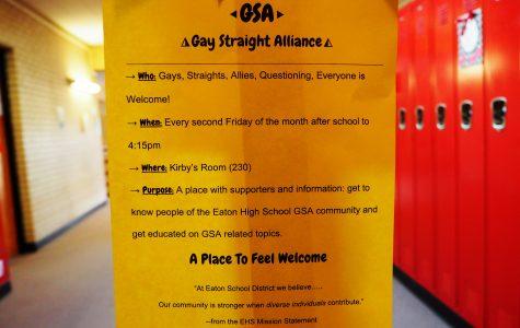 Eaton begins Gay Straight Alliance Club