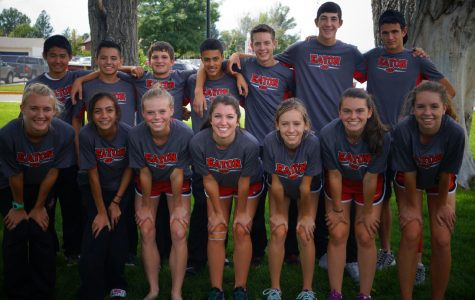 The entire Cross-Country team.