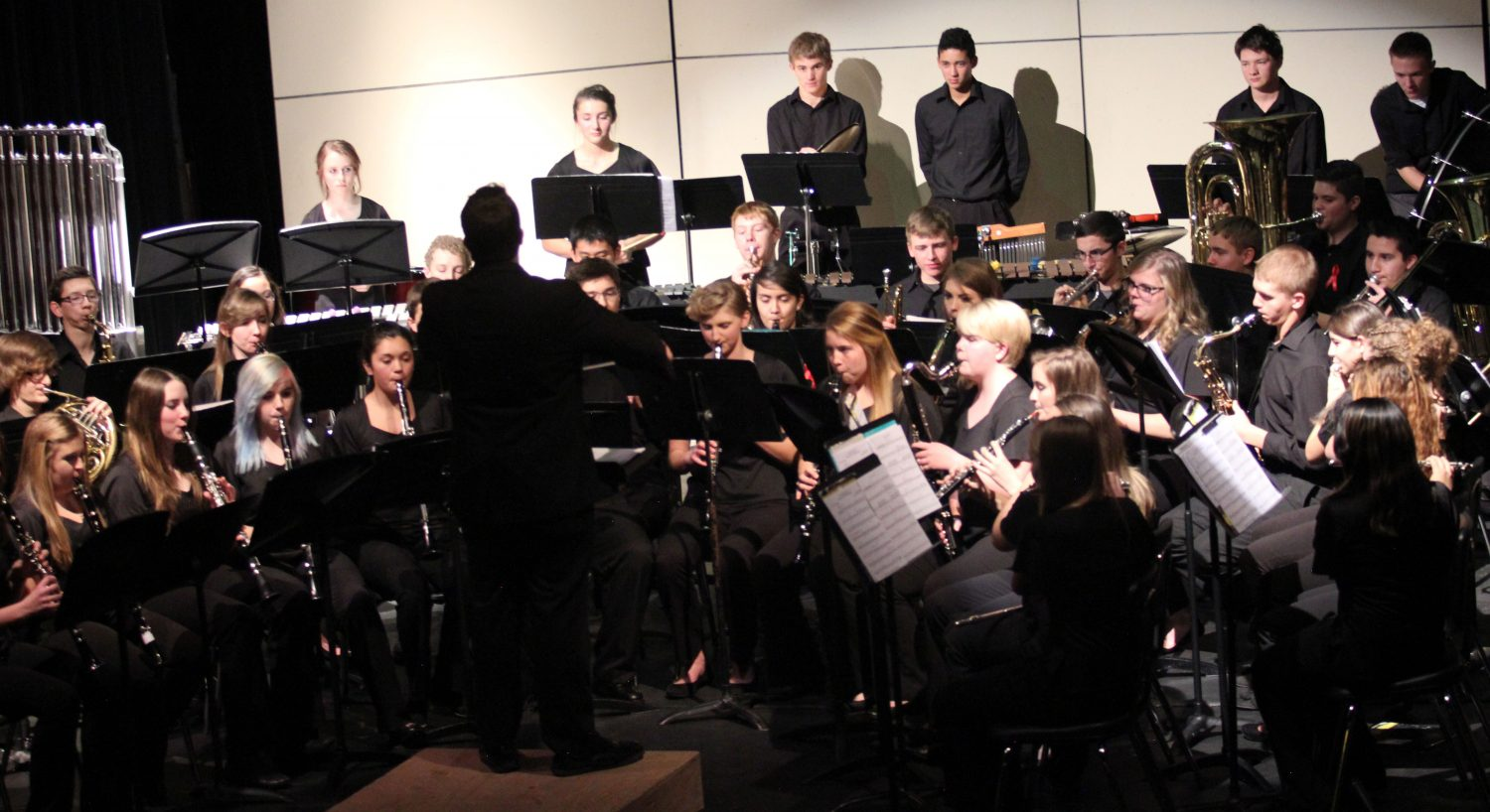 Band rocks the winter concert