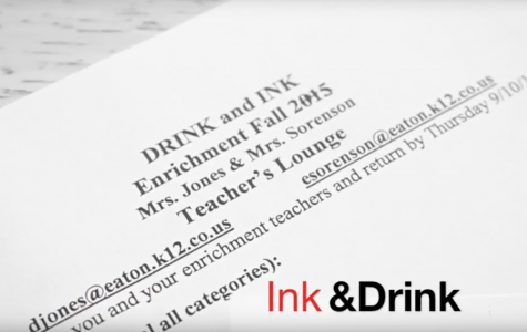 Ink and Drink warms up enrichment: a Morris film