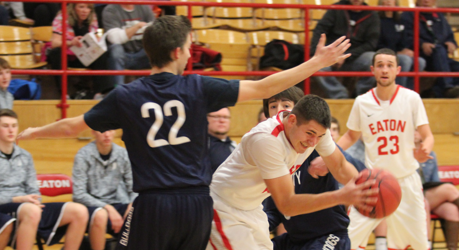 Reds complete final regular season task; head into tourney as a 1 seed