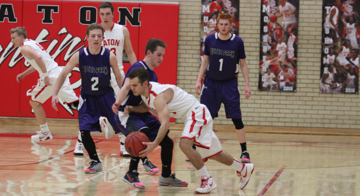 Reds win round 2 matchup of Patriot League Districts