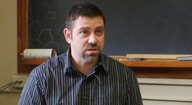 Teacher Chad Shaw shares Reds Mascot history