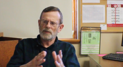 History teacher Tom Trotter shares view on Eaton's mascot