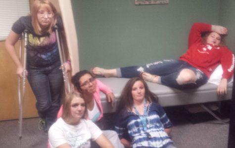 Fake An Injury Day at EHS