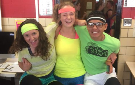 80s Workout Day at EHS