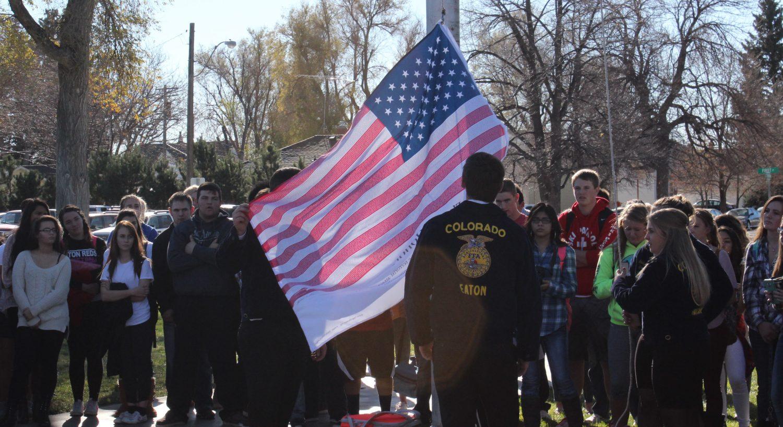 Students Honor Veterans