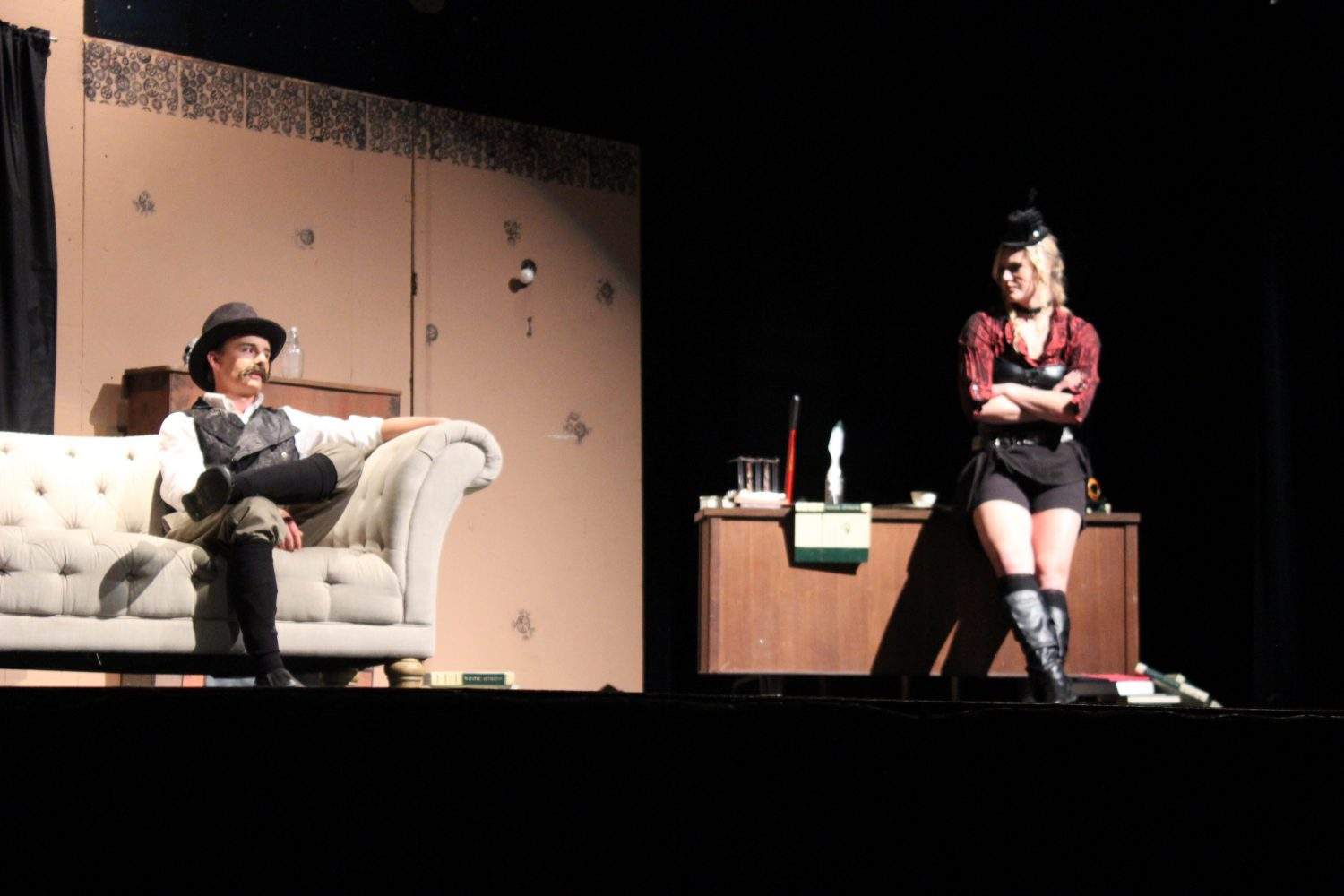 Eaton High School produces Sherlock Holmes and the West End Horror