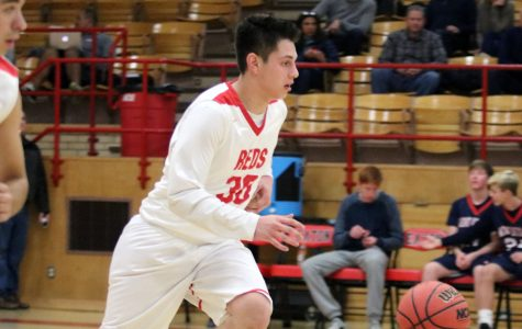 Eaton Reds boy's basketball defeat Frontier Wolverines