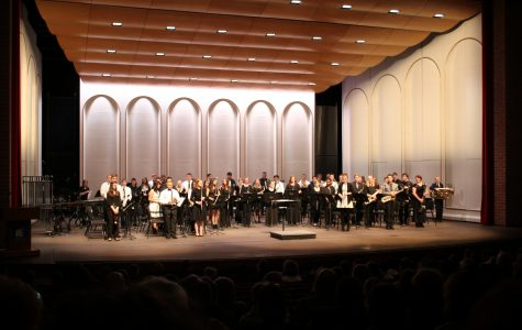 EHS band members perform in Patriot League Honor Band