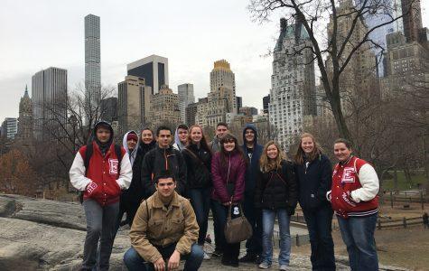 Eaton Troubadours visit New York City
