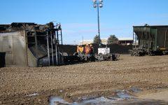 Train derailment on 85 and 392