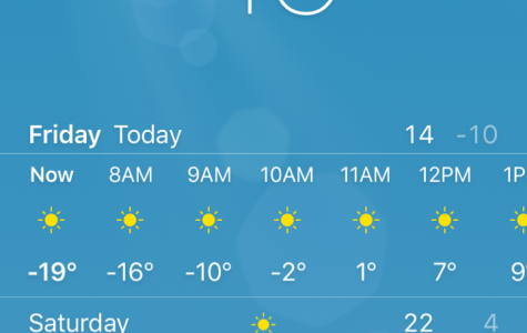 School canceled due to cold