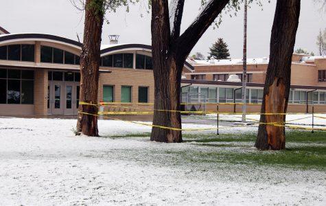 Winter storm Valerie hits Eaton