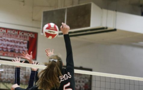 Reds defeat University with help of dependable outside hitter