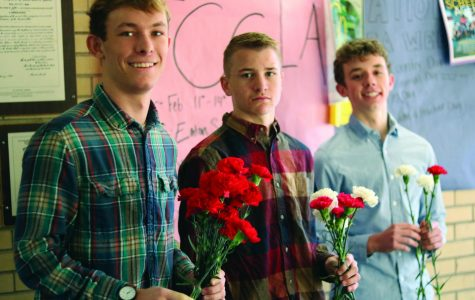 Every girl deserves a flower on Valentine's Day