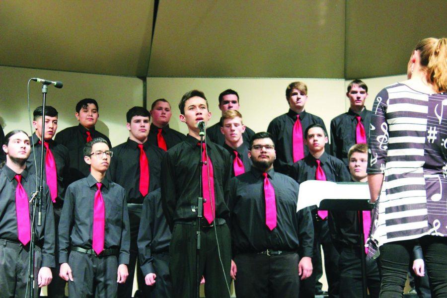 Choir lights up the night
