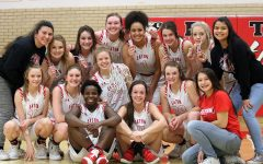 Girls basketball places third in state