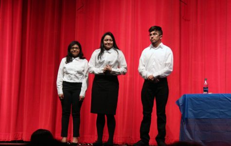 FFA members (from left to right): Arli Luna (21), Natalia Rincon (21), Pedro Porras (20).