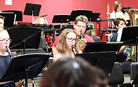 Eaton's second symphonic band meets new challenges
