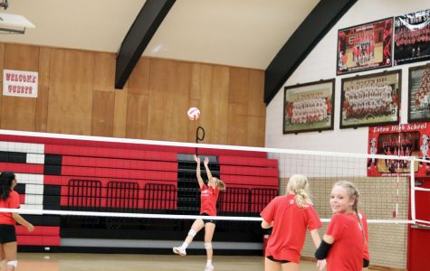 Eaton volleyball steps into new challenge