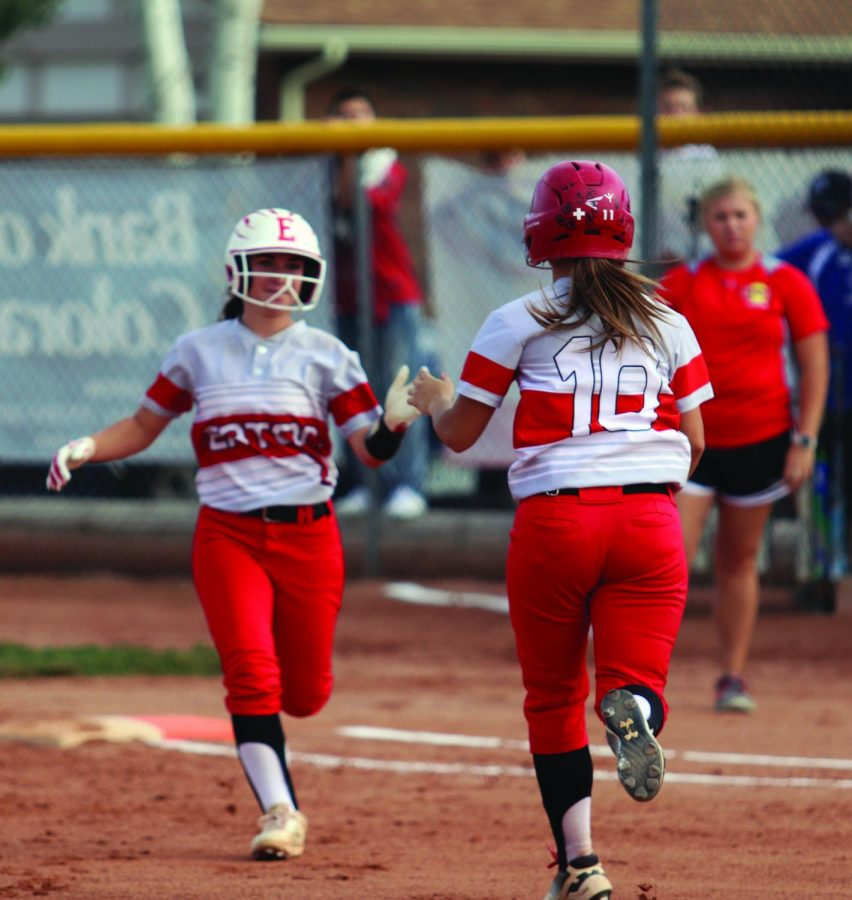 Reds Softball loses against Strasburg 15-10