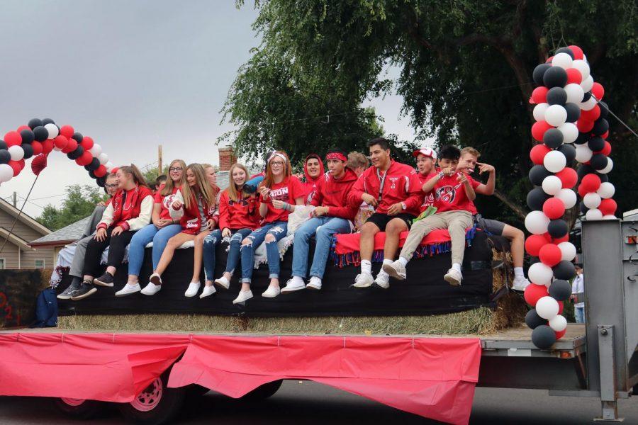 Junior parade float