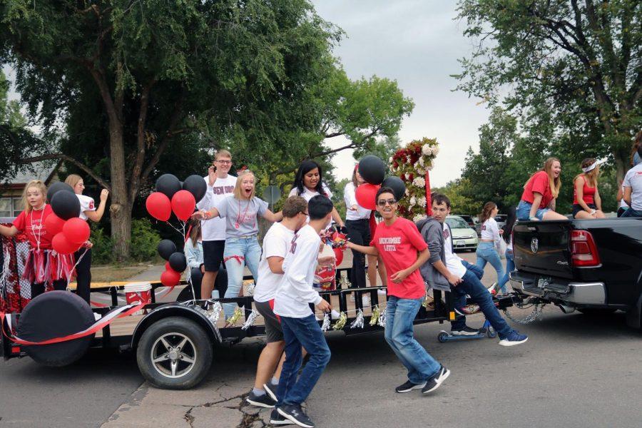 Senior parade float