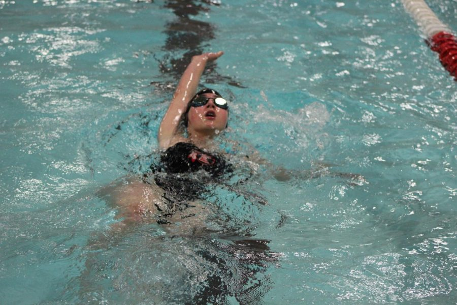 Bruntz leads swimmers for 2019 season