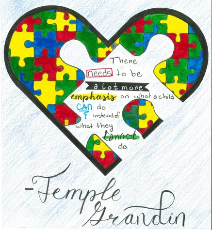 Temple Grandin, a professor at UNC, shares her views on Autism from personal experience.