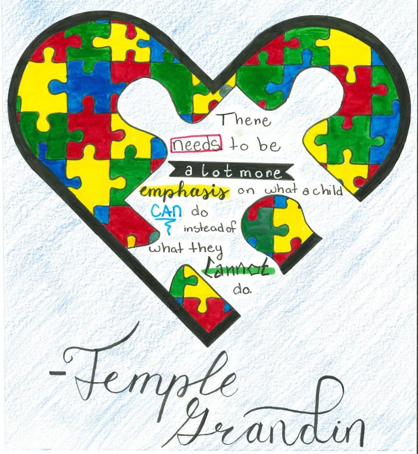 Temple+Grandin%2C+a+professor+at+UNC%2C+shares+her+views+on+Autism+from+personal+experience.+