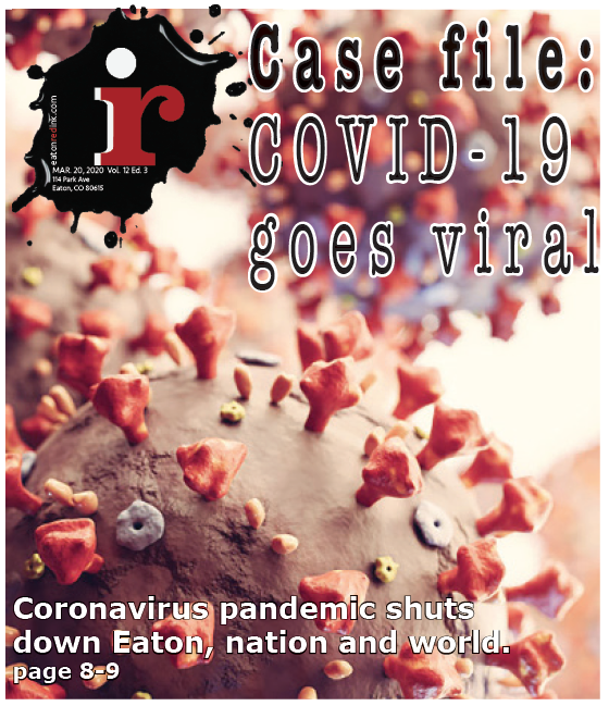 Going Viral, Literally! March PRINT EDITION Red Ink