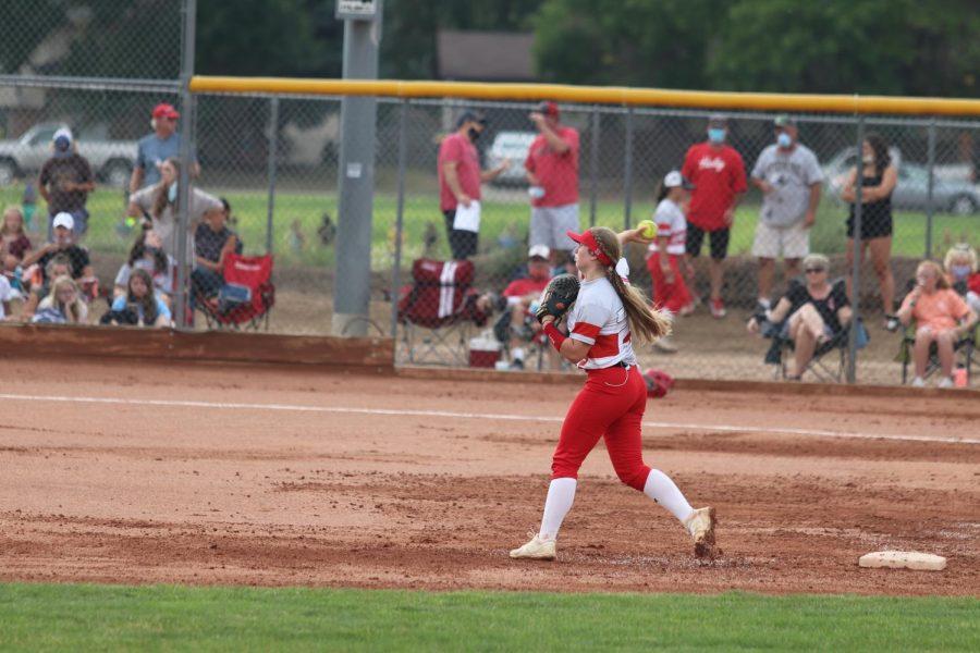Reds+Softball+vs+Valley+Photos
