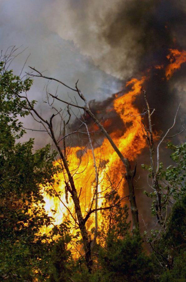 Fires rage through Colorado