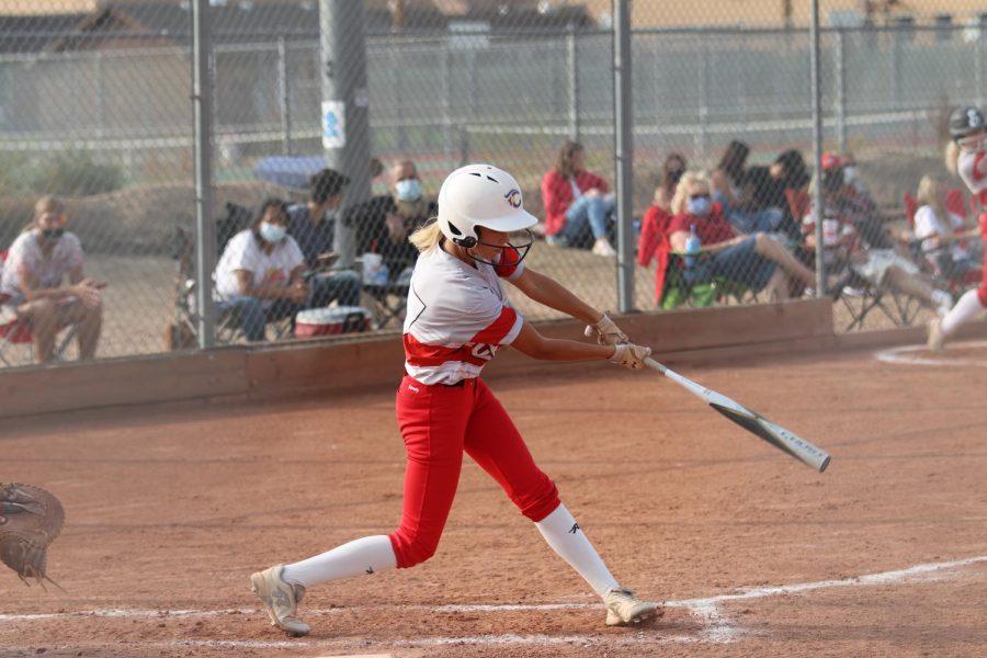 Reds+softball+vs.+Brush+photos
