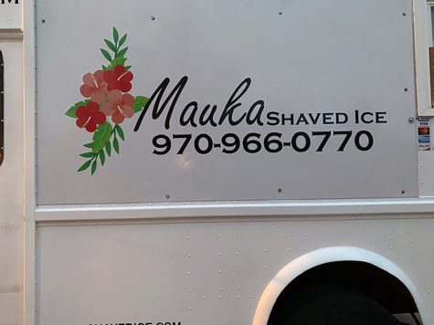 Shaved ice on wheels