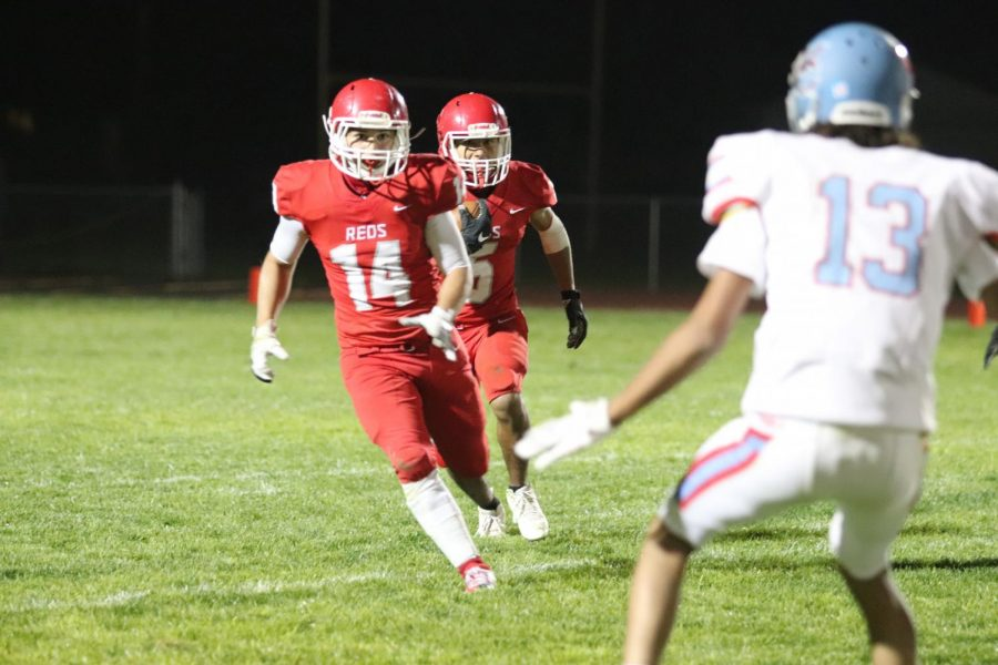 Reds football achieves huge victory over Weld Central